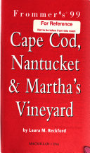 Frommer s Cape Cod  Nantucket   Martha s Vineyard