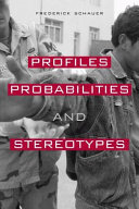 Pdf Profiles, Probabilities, and Stereotypes