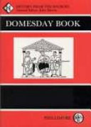 Domesday Book: Worcestershire