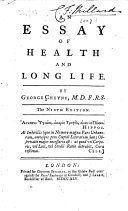 An essay of health and long life ... The ninth edition