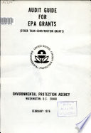 Audit guide for EPA grants (other than construction grants)