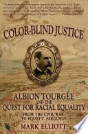 Color Blind Justice