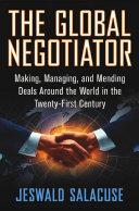 The Global Negotiator Pdf/ePub eBook