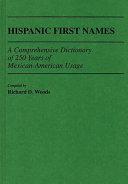 Hispanic First Names