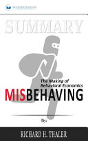 Summary of Misbehaving Book