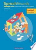 Sprachfreunde 2. Arbeitsheft. Differenzieren und Fördern. Östliche Bundesländer, Süd. Neubearbeitung