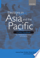 Elections in Asia and the Pacific: A Data Handbook