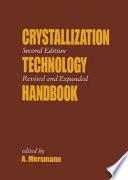 Crystallization Technology Handbook Book