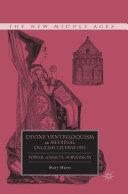 Divine Ventriloquism in Medieval English Literature Pdf/ePub eBook