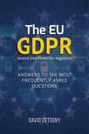 The EU General Data Protection Regulation  GDPR