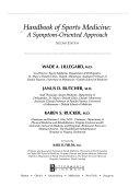 Handbook of Sports Medicine