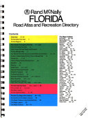 Rand McNally Florida Road Atlas and Recreation Directory