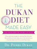 Pdf The Dukan Diet Made Easy Telecharger