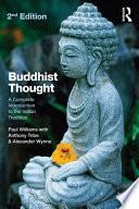 Buddhist Thought Pdf/ePub eBook