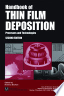 Handbook Of Thin Film Deposition Techniques Principles Methods Equipment And Applications Second Editon