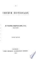 A Church Dictionary