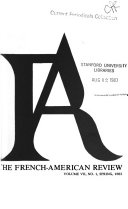 The French-American Review