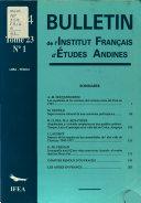 Bolet  n Del Instituto Franc  s de Estudios Andinos Book PDF