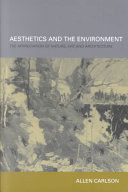 Aesthetics and the Environment