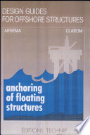 Anchoring of Floating Structures Book