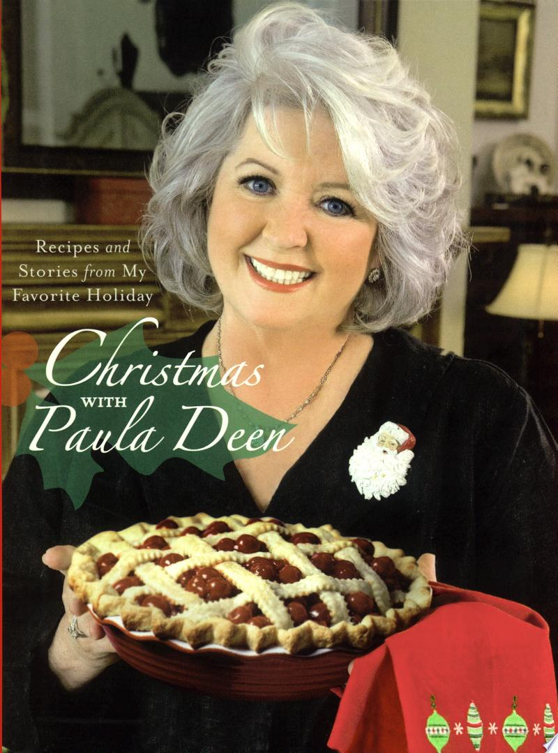 Christmas with Paula Deen image