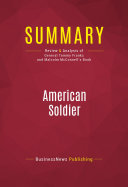 Summary: American Soldier ebook