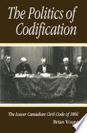 Politics Of Codification