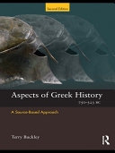 Aspects of Greek History 750–323BC