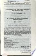 Block Burmese Jade (Junta's Anti-Democratic Efforts) Act of 2007, October 31, 2007, 110-1 House Report 110-418, Part 1