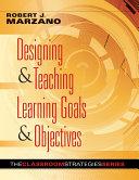 Designing & Teaching Learning Goals & Objectives Pdf/ePub eBook
