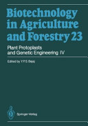 Plant Protoplasts and Genetic Engineering IV