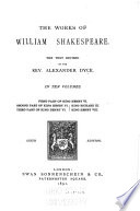 First part of King Henry VI  Second part of King Henry VI  Third part of King Henry VI  King Richard III  King Henry VIII