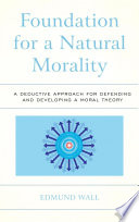 Foundation For A Natural Morality