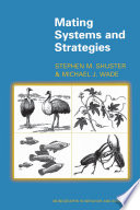 Mating Systems and Strategies Book