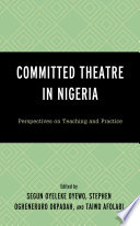 Committed Theatre in Nigeria Book PDF