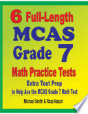 6 Full Length MCAS Grade 7 Math Practice Tests
