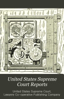 United States Supreme Court Reports