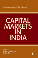 Capital Markets in India Book