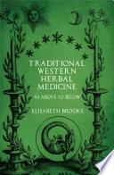 Traditional Western Herbal Medicine
