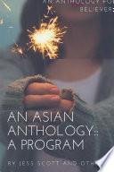 An Asian Anthology: A Program