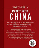 Investment University s Profit from China