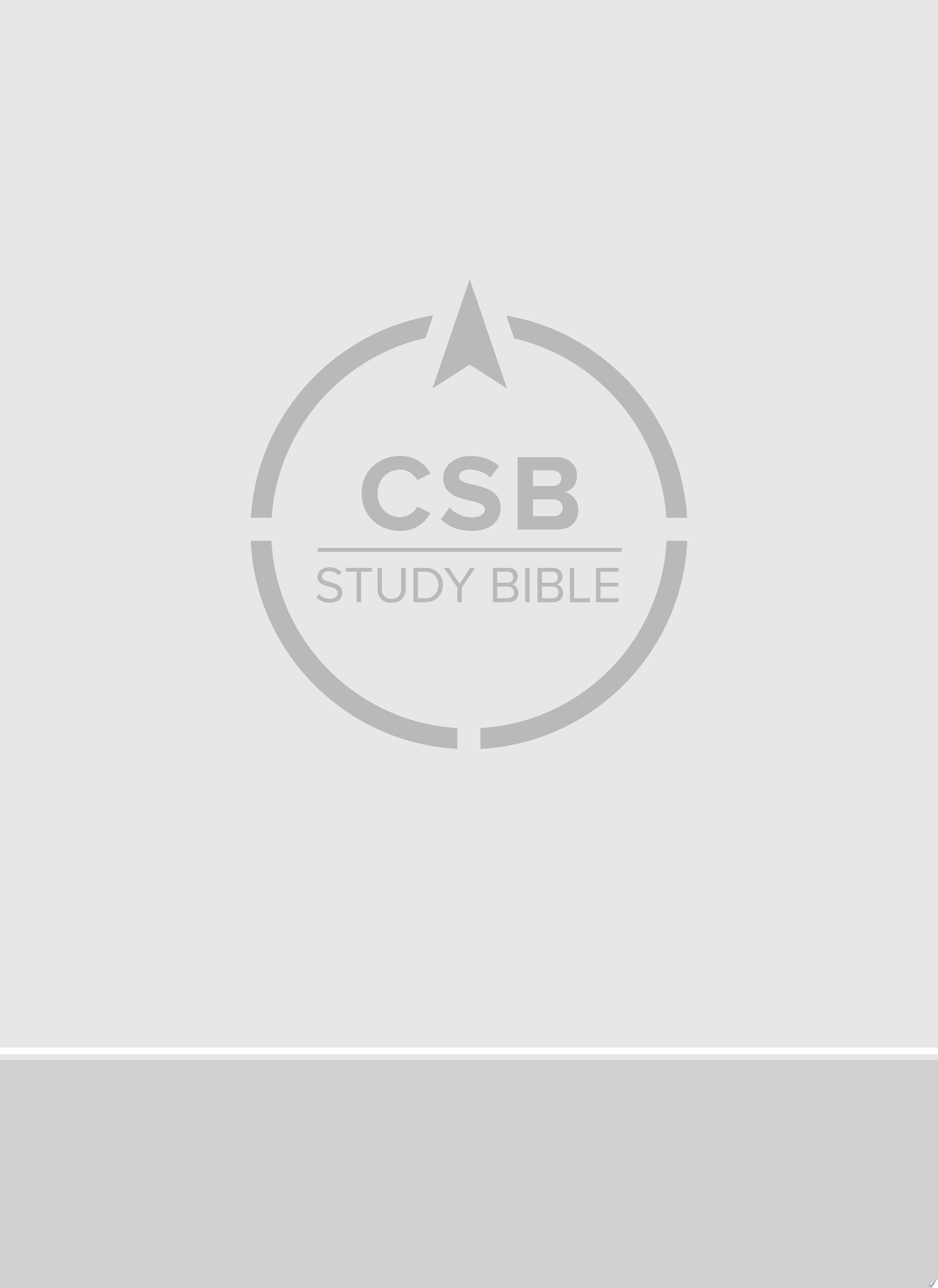 CSB Study Bible  Large Print Edition  Mahogany LeatherTouch  Indexed