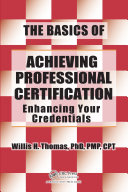 The Basics of Achieving Professional Certification Pdf/ePub eBook