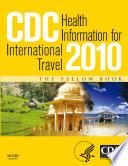 CDC Health Information for International Travel 2010