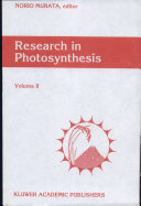 Research in Photosynthesis ebook