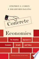 Concrete Economics Book PDF