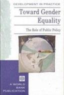 Toward Gender Equality