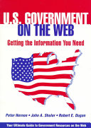 U S  Government on the Web
