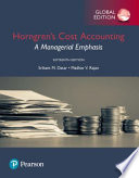 Horngren's Cost Accounting