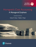 Cover of Horngren's Cost Accounting